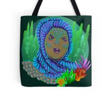 Beauty from the black lagoon Tote Bag