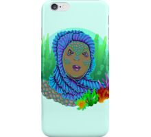 Beauty from the black lagoon iPhone Case/Skin