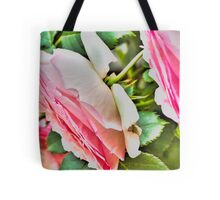 rose in the garden Tote Bag