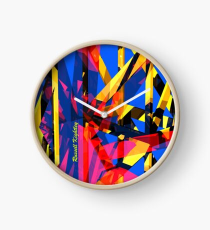 Shatter City Blue Tower Clock