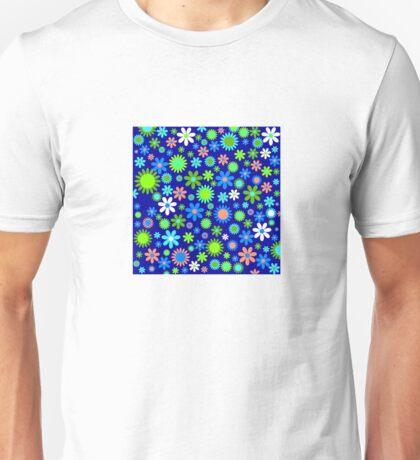Happy Hippie Flowers Unisex T-Shirt
