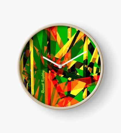 Shatter City Green Tower Clock
