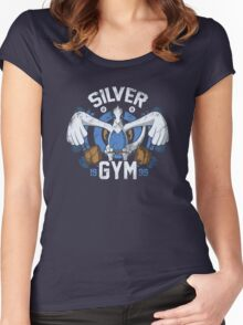 Silver Gym  Women's Fitted Scoop T-Shirt