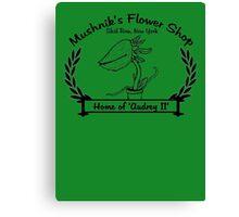 Mushnik's Flower Shop Canvas Print