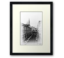 Nantes, France #3, 2014 Framed Print