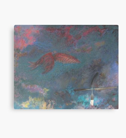 CHEROKEE WARRIOR DREAM Canvas Print