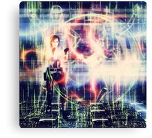 Hacker Attack Canvas Print