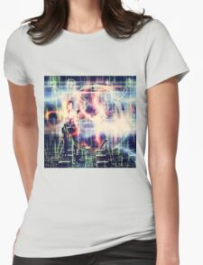 Hacker Attack Womens Fitted T-Shirt