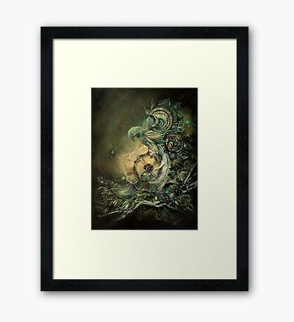 The Cost Of Contrivance Framed Print