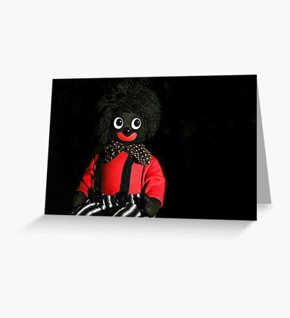 A Golli called Jolly Greeting Card
