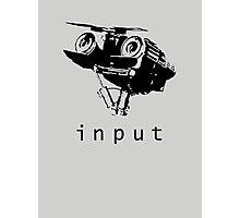 Input Photographic Print