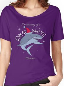Great White Xmas Women's Relaxed Fit T-Shirt