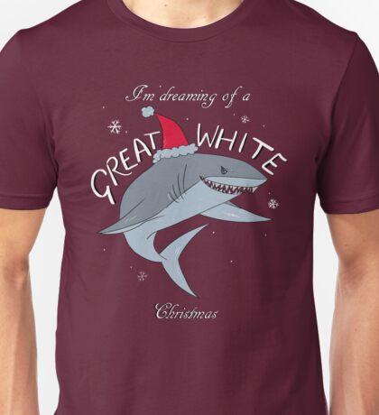 Great White Xmas Unisex T-Shirt