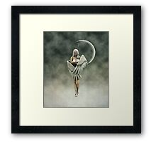 Mysterious Angel Framed Print