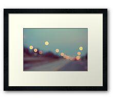 February Shine Framed Print