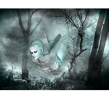 In the dark of the night .. a ghost tale Photographic Print