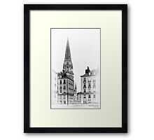 Nantes, France #7, 2014 Framed Print