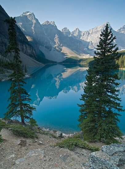 Moraine Lake, Banff NP by Eivor Kuchta