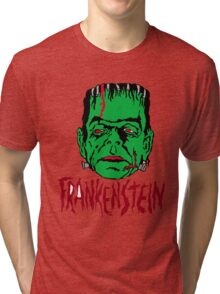 Mani-Yack Frankenstein Shirt Tri-blend T-Shirt