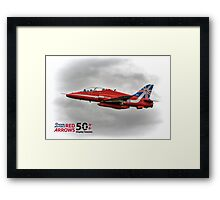 2014 Red Arrows - Duvets,  Phone Cases, Pillows etc Framed Print