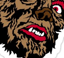 Mani-Yack Wolf Man Shirt Sticker
