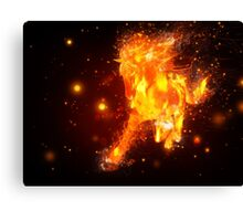 Fire horse Canvas Print