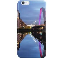 Glasgow Clyde Arc Bridge Reflections iPhone Case/Skin