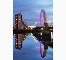 Glasgow Clyde Arc Bridge Reflections Unisex T-Shirt