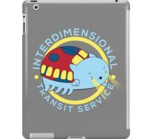 Interdimensional Transit Service iPad Case/Skin