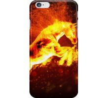Fire horse 3 iPhone Case/Skin