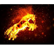 Fire horse 3 Photographic Print