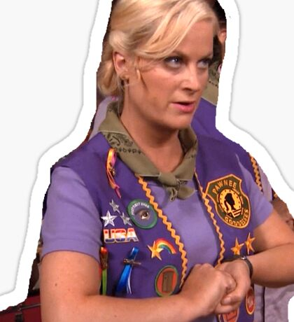 leslie knope Sticker