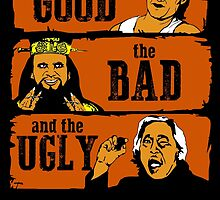 The good, the bad and the ugly in Chinatown by CarloJ1956