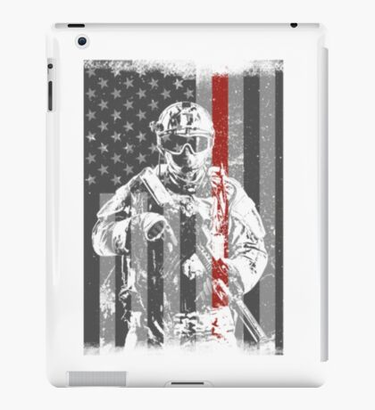 soldier's place iPad Case/Skin