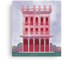 Pink Saloon Canvas Print
