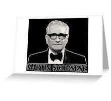 Martin Scorsese Greeting Card