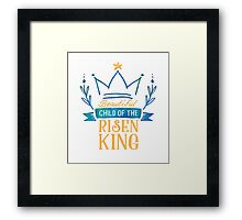 Beautiful Child of the Risen King Framed Print