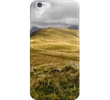 tongue moor, lake district iPhone Case/Skin