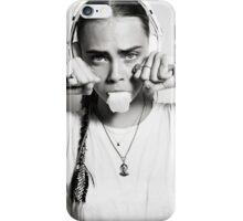 cara dele iPhone Case/Skin