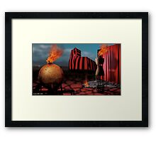 Yesterday Was Worse, Tomorrow Will Be Better Framed Print