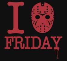 I Love Friday by DemonigoteTees
