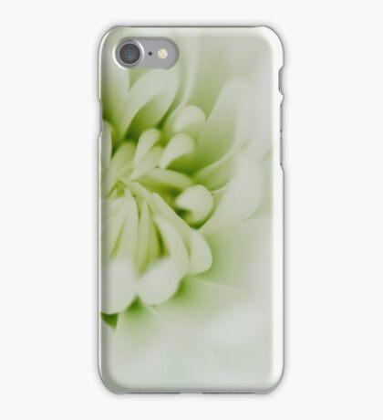 White chrysanth iPhone Case/Skin