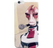 Low Polygon Mordin Solus iPhone Case/Skin