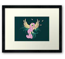 Fluttershy's Flight Framed Print