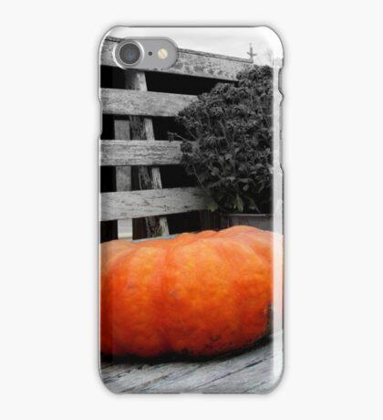 Lonely Pumpkin iPhone Case/Skin