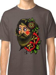 traditional bearded lady Classic T-Shirt