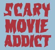 SCARY MOVIE ADDICT Kids Tee