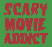SCARY MOVIE ADDICT Kids Clothes