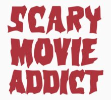 SCARY MOVIE ADDICT Kids Tee