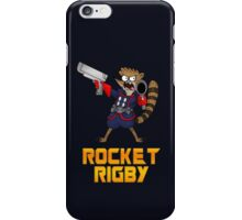 Rocket Rigby  iPhone Case/Skin
